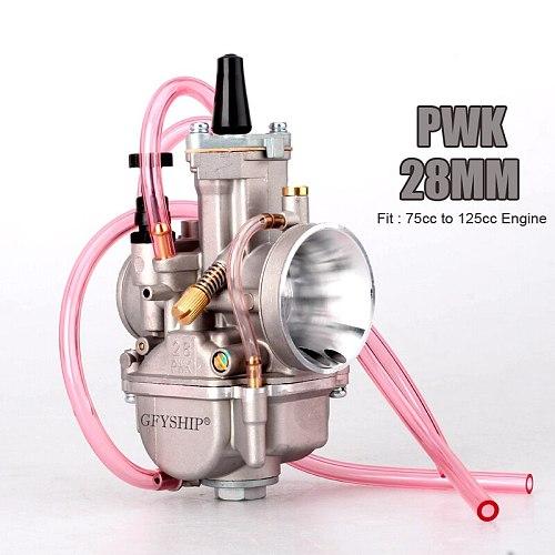 Universal 28mm 30mm 32mm 34mm 2T 4T PWK Motorcycle Carburetor Carburador For Mikuni Koso For ATV Suzuki Yamaha Honda Power Jet