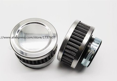 1pcs Stainless Ring Motorcycle Air Filter 32MM 35MM 38MM 48MM 54MM 60MM Cleaner For SR400  CB550 CB750 Kawasaki KZ650