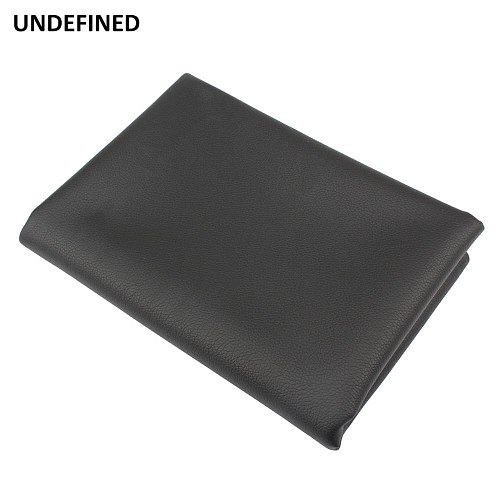 Motorcycle Leather Seat Cover Black Waterproof Wear Resistant Seat Covers Protector 70*100 cm For ATV Scooter Electric Universal