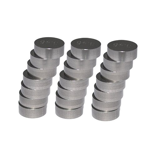 AHL Motorcycle Engine Parts Adjustable Valve Pad Shims 9.48mm Complete Valve Shim Kit Cams 1.2 ~ 4.0 (include 5pcs)
