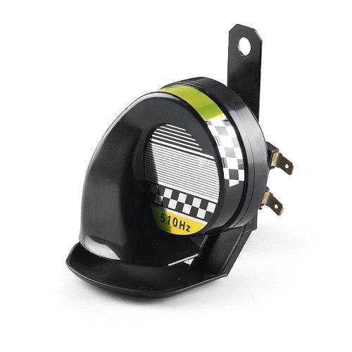 Universal 12V DC 130dB Snail Air Motorcycle Horn Siren Loud 510Hz for Car Truck Motorbike Waterproof