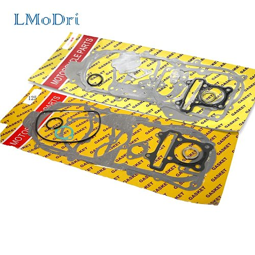 LMoDri Free Shipping New Motorcycle Completed Gasket Seal Kit for GY6 Chinese Scooter Moped ATV 50cc 90cc 125cc 150cc Engine