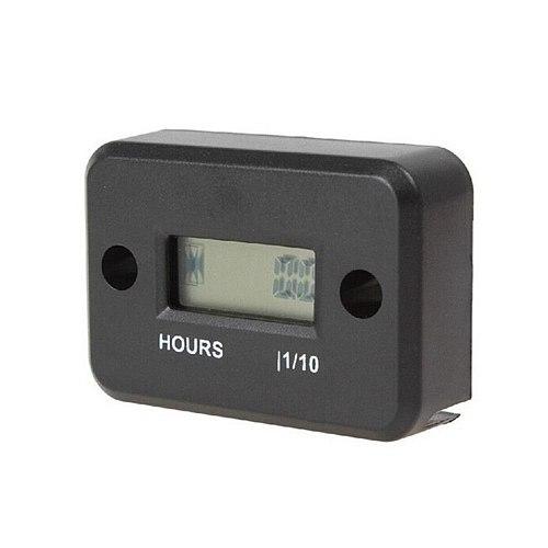 Motorcycle Hour Meter With Battery Timer With Inductive Moto Digital Moto Jet Ski Timer Accumulator Digital Working Gauge