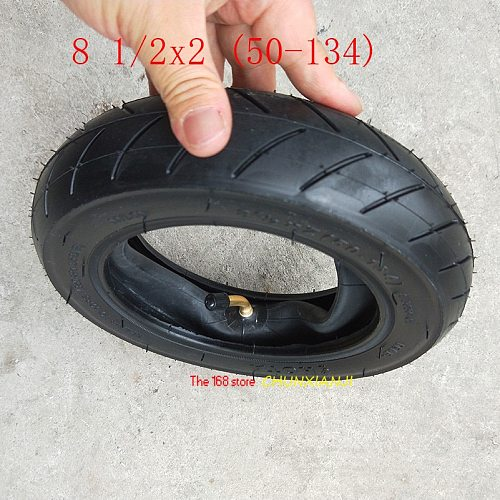 High performance 8 1/2X2 (50-134) tires 8.5 Inch Baby carriage Wheelbarrow Electric scooter tyre inner tube 8 1/2*2