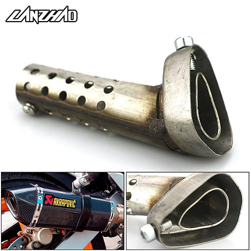 42 45 48mm Motorcycle Exhaust Pipe Muffler Silencer DB Killer for Akrapovic Yoshimura Laser IXIL SC PROJECT M4 AR Slip-On Pipes