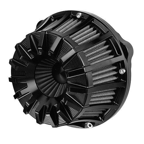 CNC Crafts Intake Air Cleaner Filter 10 Inverted for Harley XL Sportster 883 Softail Dyna Touring Big Twin Cam FLT FLST FXDLS M8