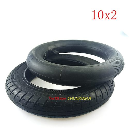 Upgrade 10 Inch Xiaomi Mijia M365 Electric Scooter Tire 10x2 Inflation Wheel Tyre with Inner Tube 10*2 (54-156) Pneumatic Tyre