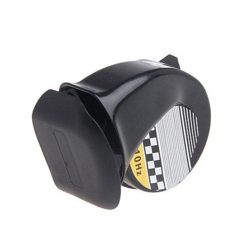 12V 130DB Universal Car Horns Signal for Auto Vehicle Trucks siren Car Horn Black Snail Waterproof Signal Horn  Car Accessories