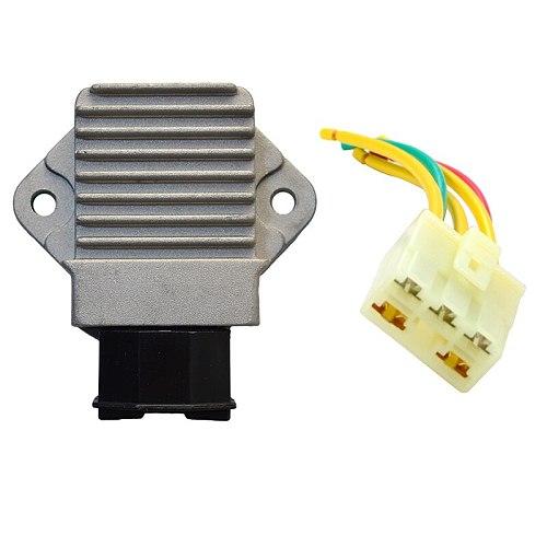 Motorcycle Voltage Regulator Rectifier Plug Line head For Honda CB250 CB400F CB400SF CB500 CB600 CBR400 CBR400RR CBR500 CBR600