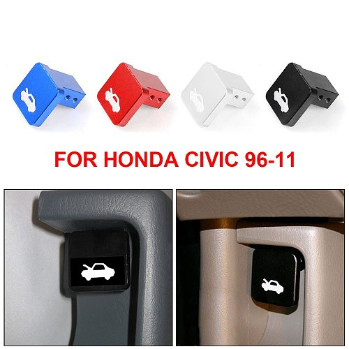 Car Hood Release Latch Handle Repair Kit Auto Accessories Engine cover lock for Honda for Civic 1996-2011 4Colors 1pcs