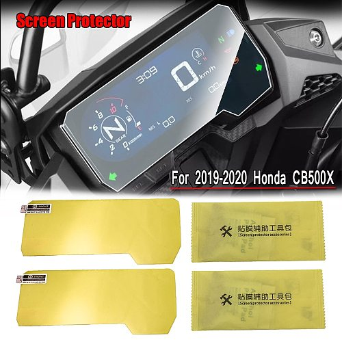 CB500X CB 500X CB500 X Screen Protector Cluster Dashboard Cover Scratch Protection Instrument Film For 2019 2020 HONDA CB500X