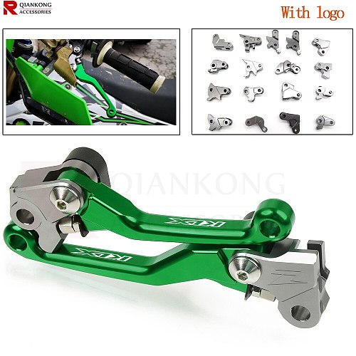 For KAWASAKI KX KLX 65 80 85 120 125 250 450 F Motorbike Custom Made Brake Clutch Lever KLX125 KLX250 KX65 KX80 KX85 KX125 KX250