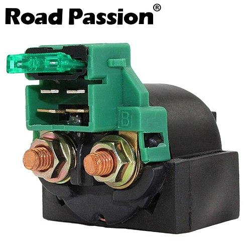 Road Passion Motorcycle Starter Solenoid Relay Ignition Switch For KAWASAKI KLF220 KLF250 EL250 EN500 EX500 VN1500 VN800 KLX650