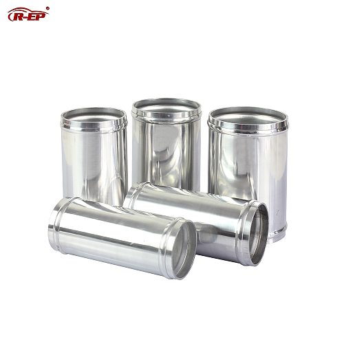 R-EP Air Intake Aluminum Tube 51/57/63/70/76mm for Connecting Cold Air Intake Hose DIY Tube for Engine Air Flow Tuning