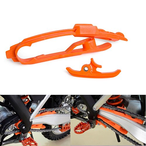 Chain Slider Sliding Swingarm Guard Guide Kit For KTM 125 150 250 350 450 SX SXF SX-F Factory Edition 2012-2020 2019 XC XCF SMR