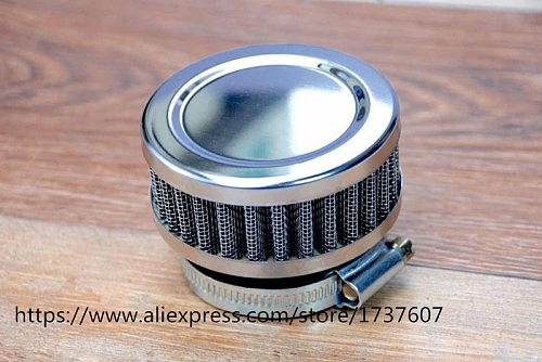 1pcs Stainless Ring Motorcycle Air Filter 46MM 48MM 50MM 52MM 54MM 60MM Cleaner For SR400  CB550 CB750 Kawasaki KZ650
