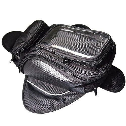 Motorcycle tank bag oil fuel tank bag motorbike saddle side