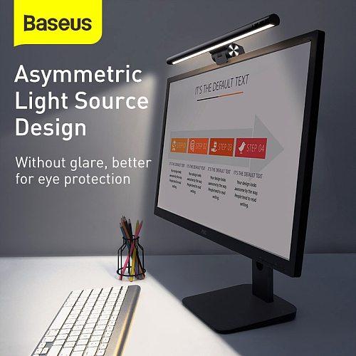 Baseus Stepless Dimming Eye-Care LED Desk Lamp For Computer PC Monitor Screen bar Hanging Light LED Reading USB Powered Lamp