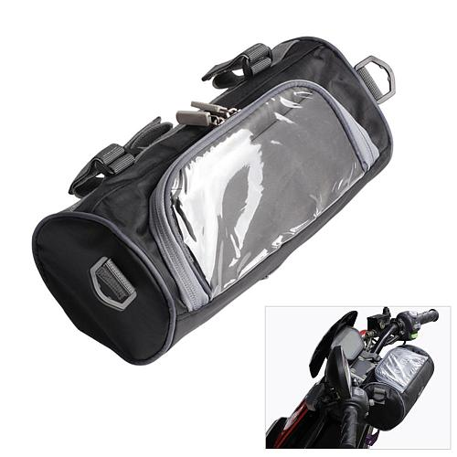 Motorcycle Electric Car Front Handlebar Storage Bag Motorcycle Accessories Waterproof Mobile phone Touch Screen Storage Bag