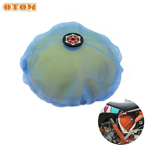 OTOM Motorcycle Air Filter Dustproof Sand Cover Engine Cleaning Protection For KTM KAWASAKI SUZUKI YAMAHA HONDA