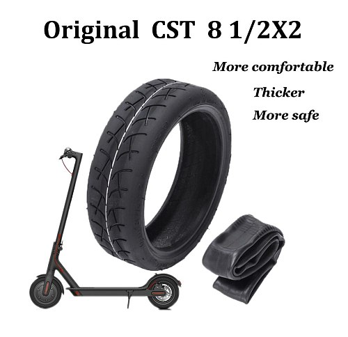 Upgraded  CST Inflatable Tires for Xiaomi Mijia M365 Electric Scooter Tire 8 1/2X2 Tube Tyre Replace Inner Camera