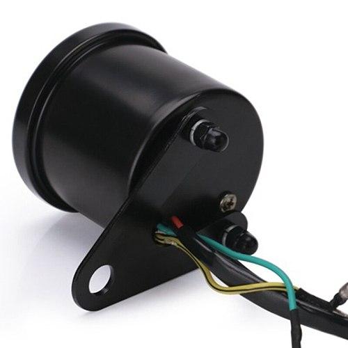 Digital Electronic Induction Ip65 Led Backlight Universal Motorcycle Speedometer Meter Counter 13K Rpm Shift Tachometer Gauge