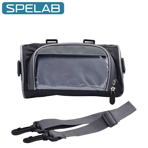 Motorcycle Front Handlebar Fork Storage Bag Electric Front Frame Bag Container Bicycle Universal Water Repellent Pouch Moto Bag