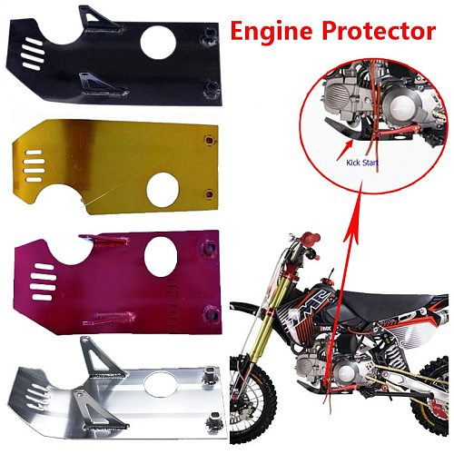 TDPRO Dirt Bike Protector Skid Plate Guards New Motorcycle Skid Plate Guard For Moto Go Kart XR50 CRF50 XR CRF 70cc 110cc 125cc