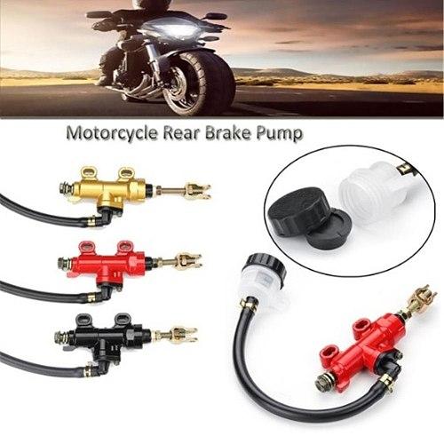 Motorcycle Rear Foot Hydraulic Brake Pump Refit Rear Brake Master Cylinder Pump For Suzuki Kawasaki Honda Yamaha