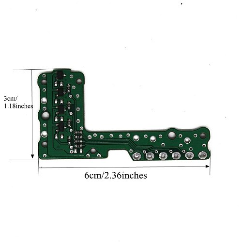 LARBLL  Car Auto Automatic Transmission Gear Sensor Repair Board For BMW F02 6HP21