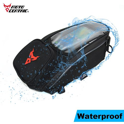 2020 New Motorcycle Tank bag Slung Shoulder Bag Large Mobile Screen Navigation Bag Waterproof Magnetic Moto oil Fuel Tank bag