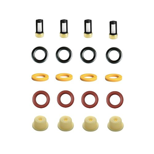 4pieces/set fuel injector repair kits for BWM K100  Motorcycle OEM 0280150210 for AY-RK067