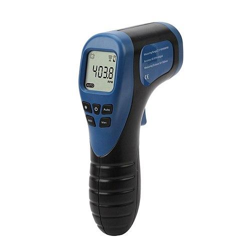 Car Digital LCD Tachometer Non-Contact RPM Meter Motorcycle Speed Gauge Car Motor Speed Tach Meter Speedometer tacometro digital