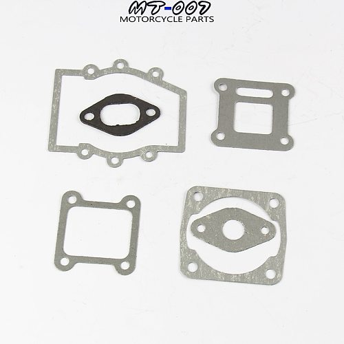 2Sets/Pack Motorcycle Engine Gasket  Kit Parts for 2 Stroke 47cc 49cc MiniMoto Mini Dirt Pocket ATV Quad Moto Bike Motorbike