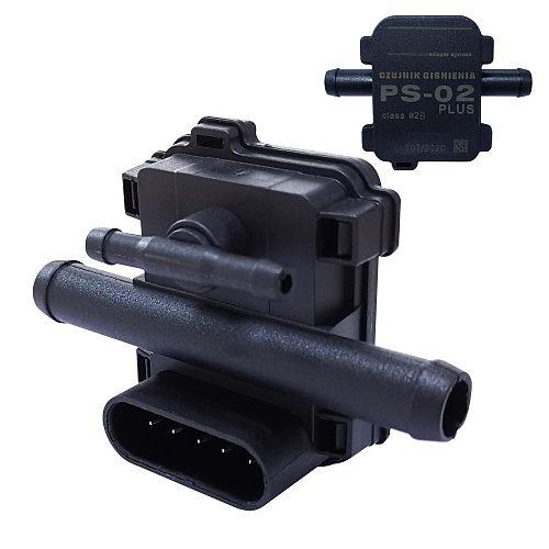 LPG CNG MAP Sensor PS-02 Plus 5 Pins Gas Pressure Sensor For LPG CNG Conversion Kit For Car