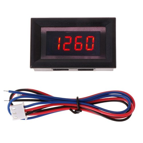 2019 New Red LED car motorcycle digital tachometer and engine tachometer tachometer with battery overvoltage alarm