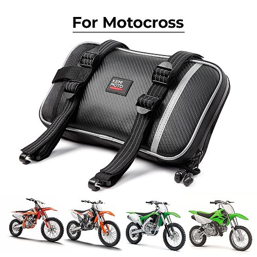 Universal Motocross Front Fender Bags For KTM For Yamaha Dirt Bikes Enduro Motorcycle Front Mudguard Bag Motocross Toolkit Bag