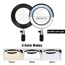 EOOKU 8W USB LED 3 Colors Table Lamp Dimming Desk Reading Light with 5X Large Magnifying Glass Magnifier Nail Beauty Light