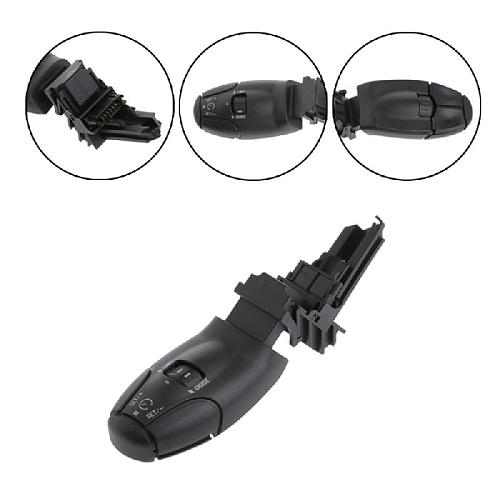1Pc Black Cruise Control Switch For Citroen C3 C5 C8 for Peugeot 207 307 308 407 607 3008 6242Z9 Auto Replacement Parts New