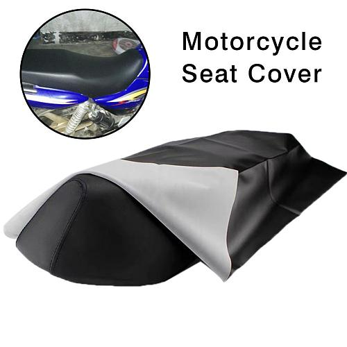 100x70 cm Motorcycle Seat Cover Leather Seat Protector Wear-resisting Waterproof Cover For Motorcycle Scooter Electric Vehicle