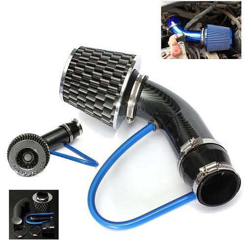 Universal Car Automobile Racing Air Intake Filter Alumimum Pipe Power Flow Kit GM Car Racing Air Intake Filter Aluminum Pipe