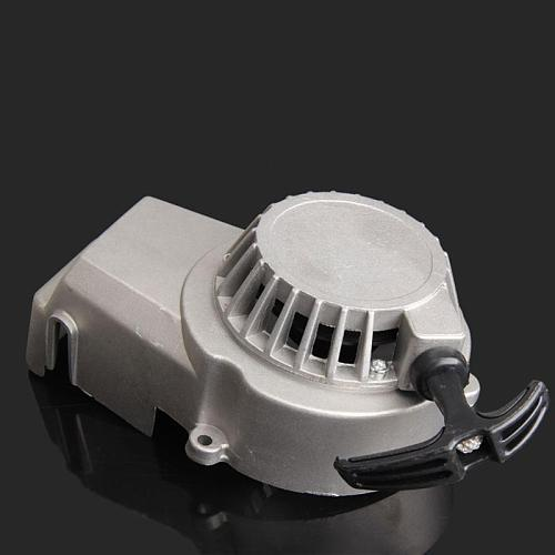 Motor Aluminum Pull Starter Start Mini Pocket Bikes ATVs Quad 49cc Mower Engines For Motorcycle Pull Starter