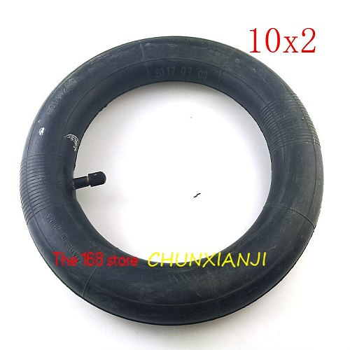 2pcs Electric Scooter 10 Inch Inner Tube Camera 10x2 for Xiaomi Mijia M365 Spin Bird 10 Inch Electric Skateboard