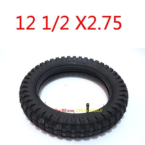 Good Quality 12 1/2 X 2.75 Tyre 12.5 *2.75 Tire or Inner Tube for 49cc Motorcycle Mini Dirt Bike Tire MX350 MX400 Scooter