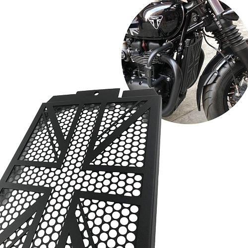 Accessories / Radiator Guard (Wide Version) for 2017+ Triumph Bobber Black and Speedmaster T120 T100  Speed Twin Street Twin