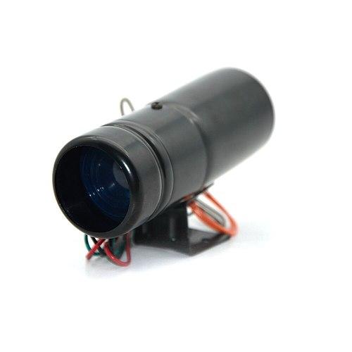 DepoTuning Red and Blue Led Adjustable Tachometer Rpm Tacho Gauge Pro Shift Light 1000-11000 Universal