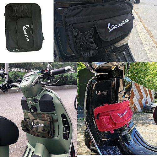 Hot Scooter Waterproof Glove Bags Storage Bag Side Bag Tank bag for Vespa GTS LX LXV Sprint Primavera 50 125 250 300 GTS300