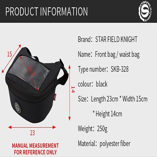 Motorcycle Handlebar Bag Fuel Tank Bag Windscreen Bag Mobile Phone Touch Screen Earphone Bag for vespa gts300 tmax 560 530 xmax