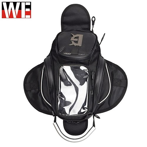 GHOST RACING Motorcycle Magnetic Tank Bags Mobile Phone Touch GPS Navigation Bag Moto Motorbike Motocross Bags Travel Luggage
