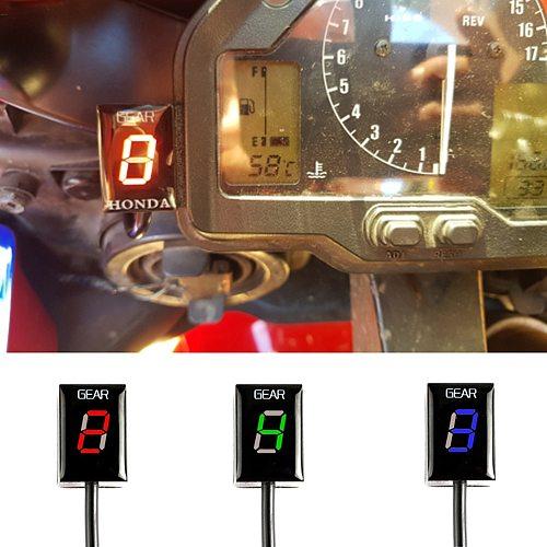 Motorcycle  Level Ecu Plug Mount Speed Gear Display Indicator For Honda CB650 NC750 X F CTX700  XL700V CRF250L/M CBR250R CB250